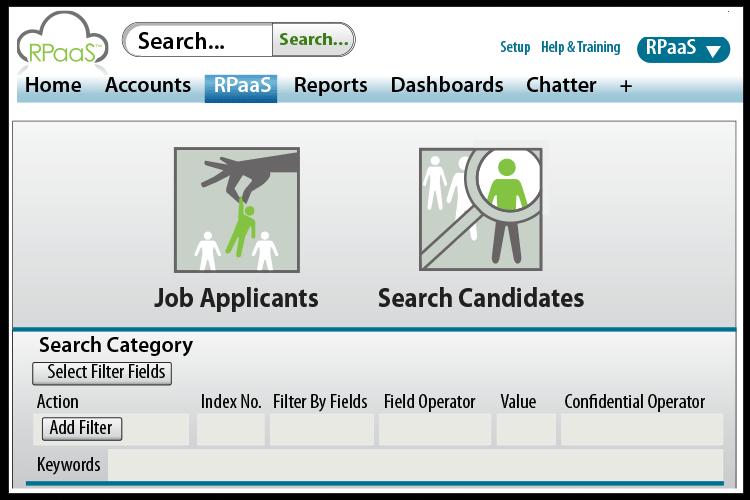 Rpaas App Screenshot
