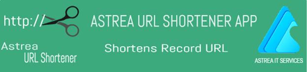 Astrea URL Shortener App Image