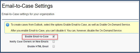 Email-to-Case Image