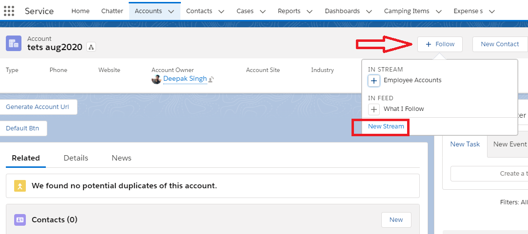 Create-Chatter-Streams-In-Salesforce-Lightning