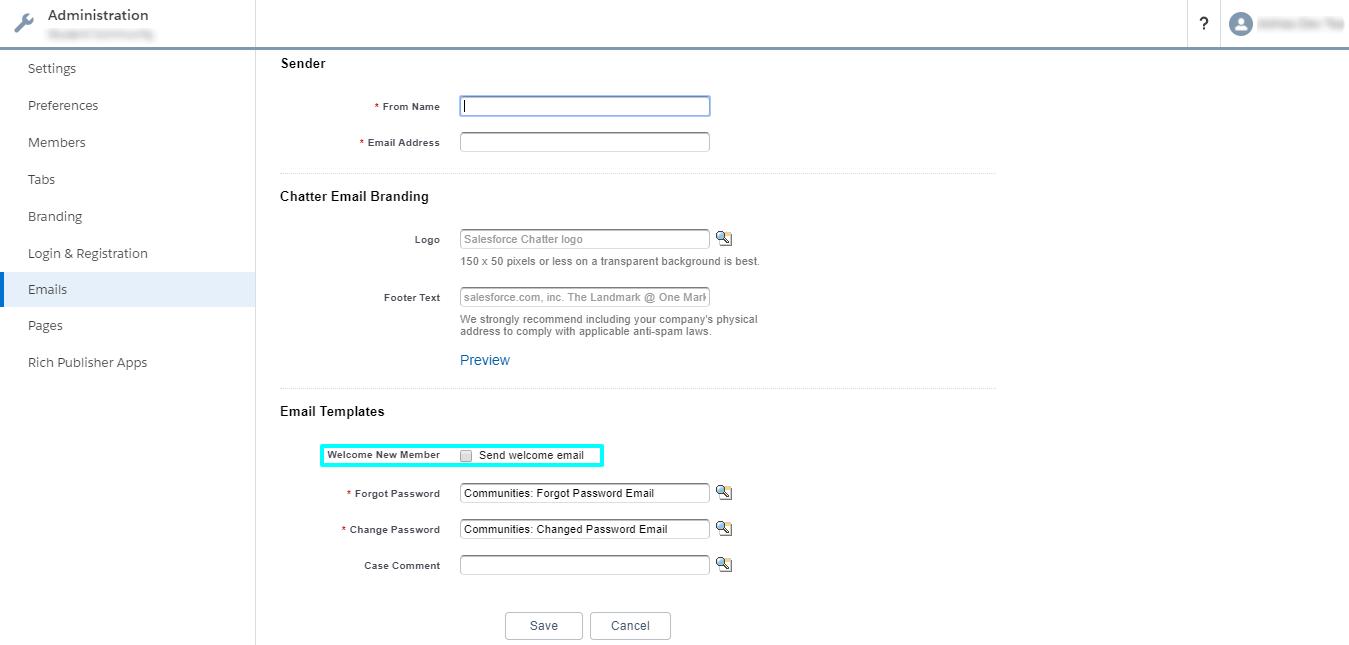 Custom Password Change Image