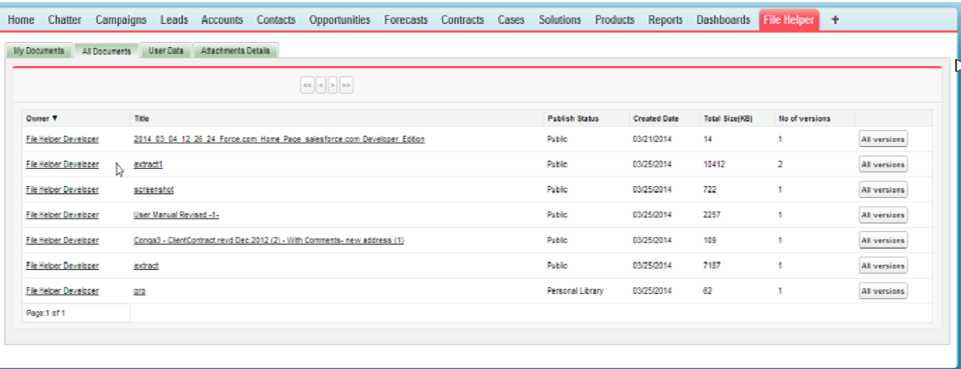 File Helper App Screenshot