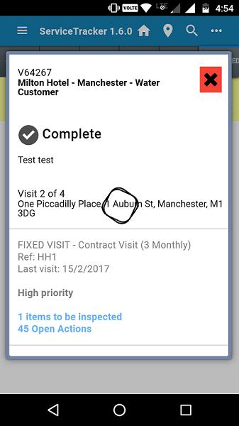 Field Service Mobile App Image
