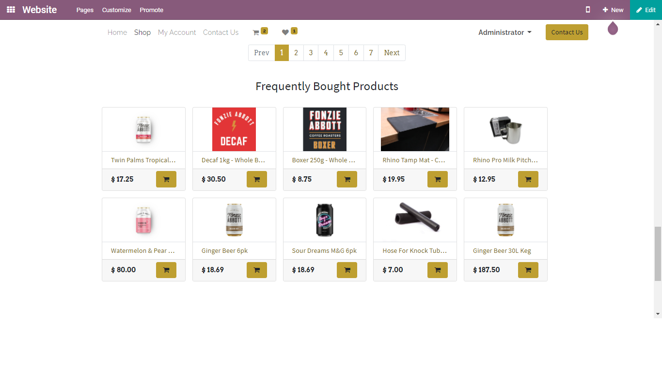 Frequently Bought Products added in the image