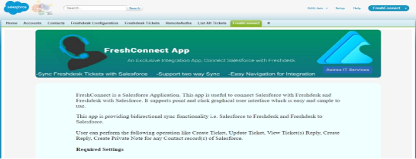FreshConnect App Screenshot
