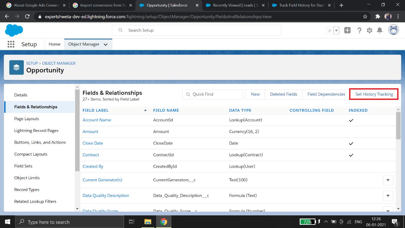 Google-Ads-Salesforce-Integration