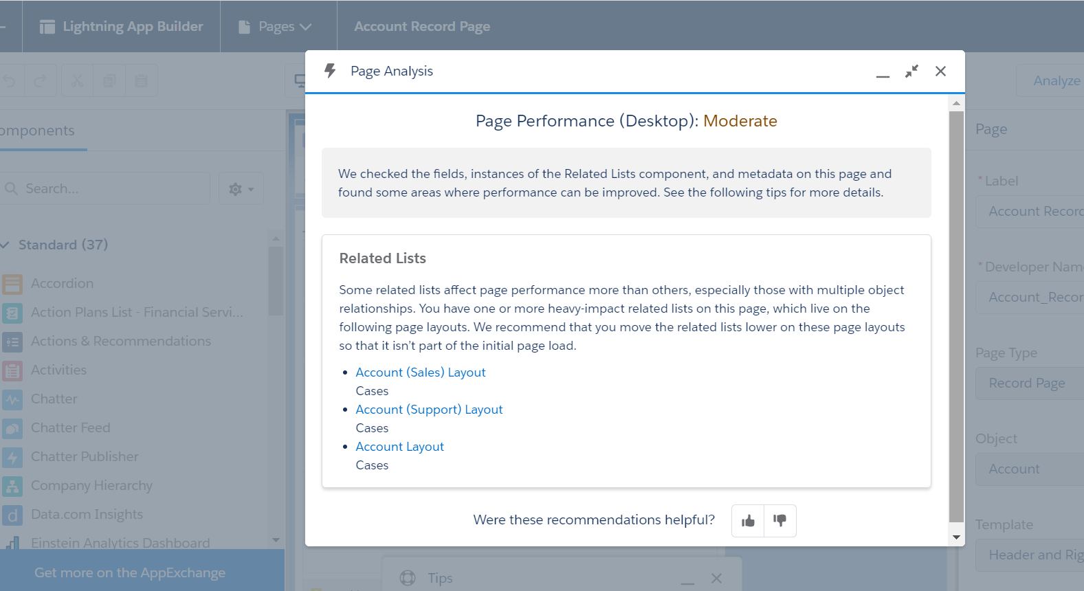 Lightning-Page-Performance