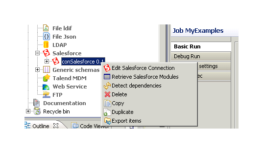 Migrating Records Using Talend