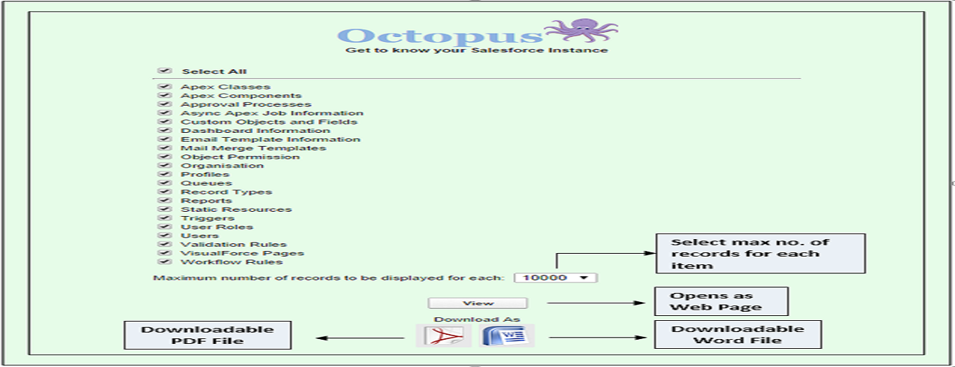 Octopus App Screenshot