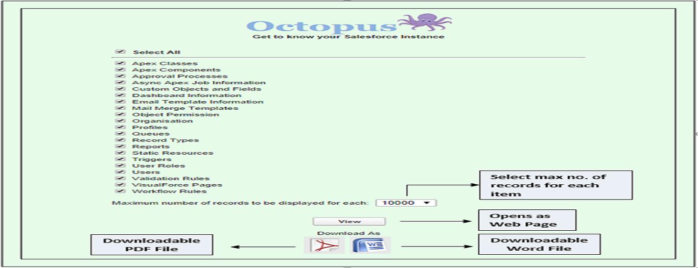 Octopus App Screenshot