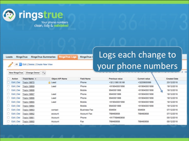 RingsTrue App Screenshot