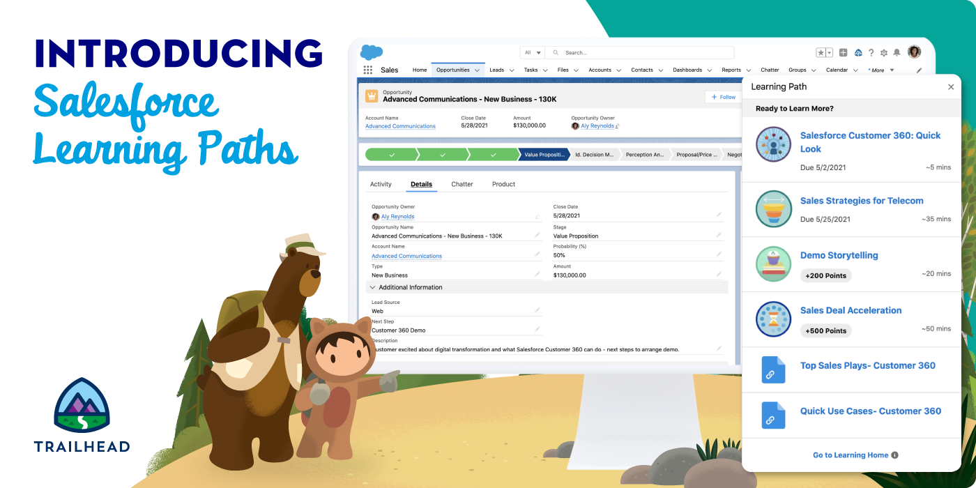 Salesforce Learning Paths