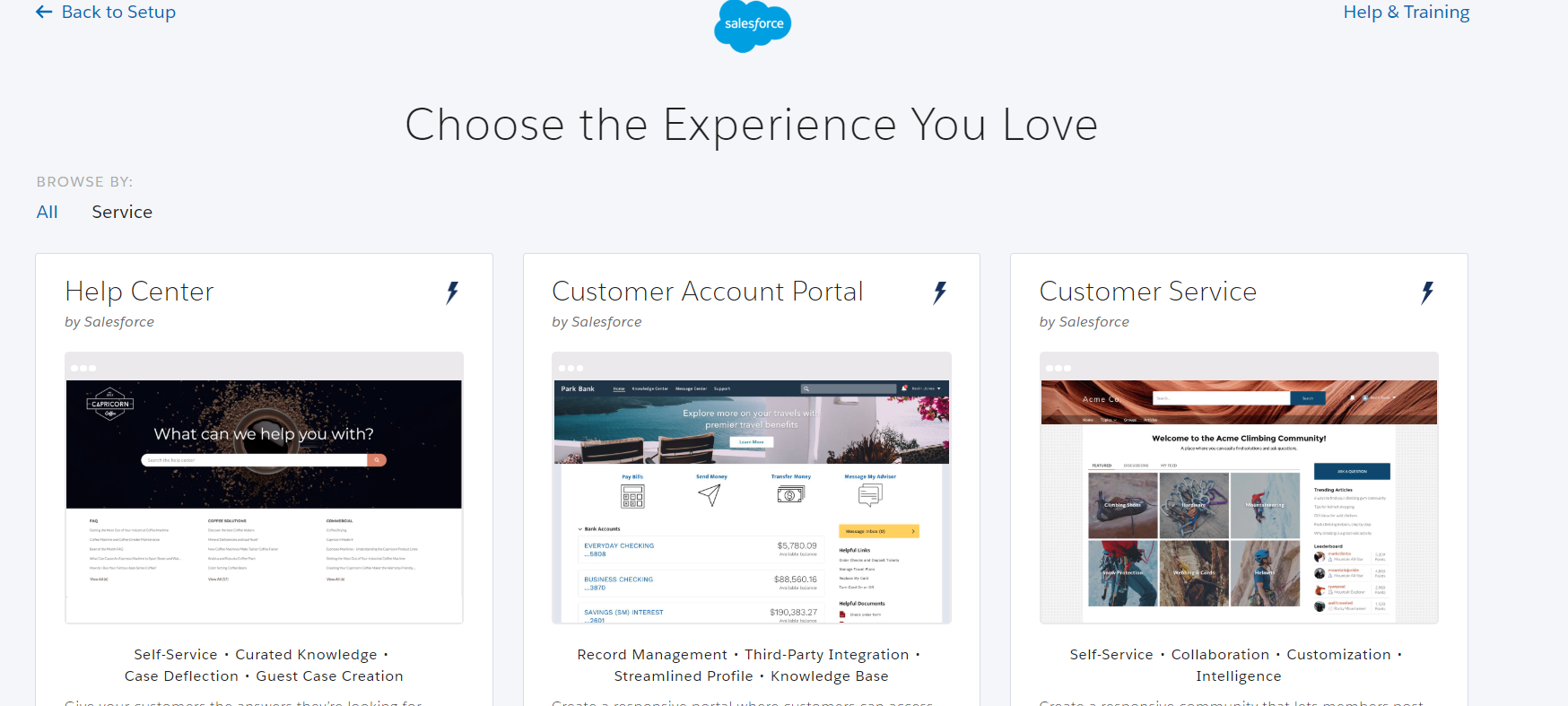 Salesforce Lightning Community image1