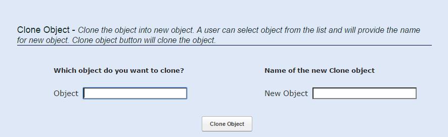Dolly Cloning Application Screenshot