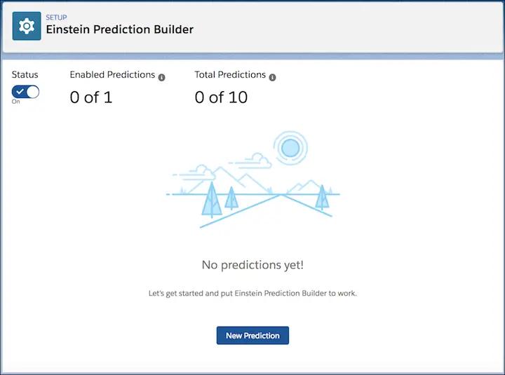 einstein prediction builder screenshot 1