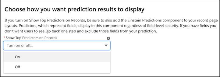 einstein prediction builder screenshot 10