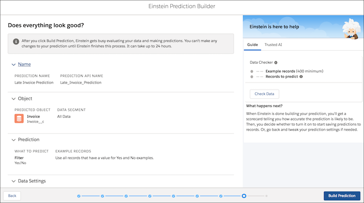 einstein prediction builder screenshot 11