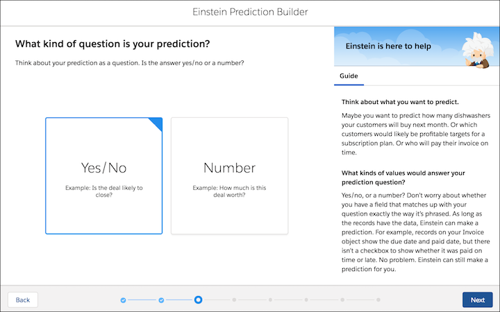 einstein prediction builder screenshot 4