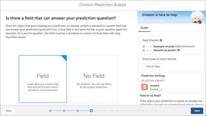 einstein prediction builder screenshot 5