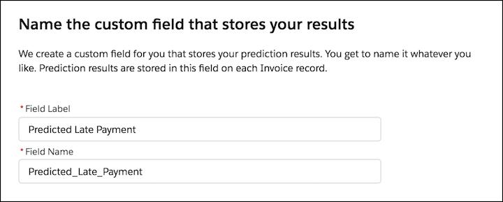 einstein prediction builder screenshot 9