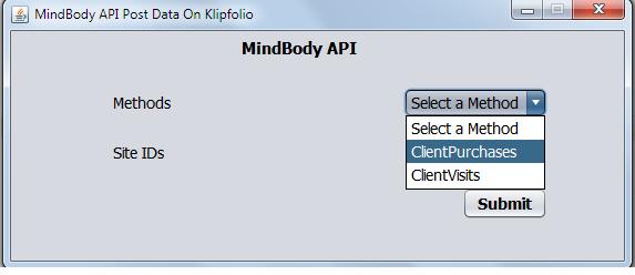 Klipfolio dashboard with MindBodyOnline API Image1