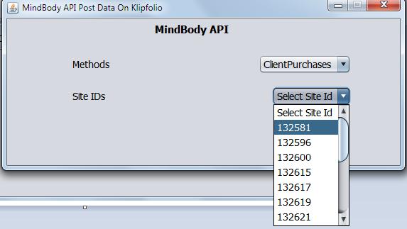 Klipfolio dashboard with MindBodyOnline API Image2