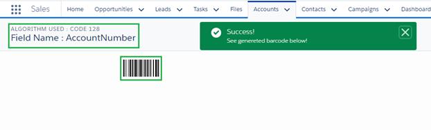 Barcode mobile user image