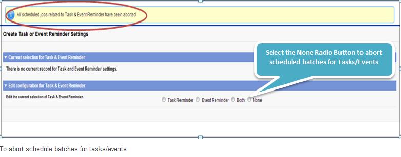 SmartCal Release Salesforce Application Screenshot