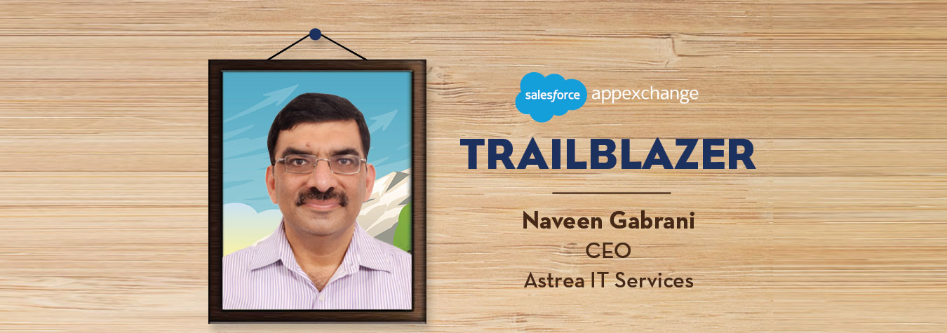 Astreas CEO selected as Trailblazing Partner by Salesforce